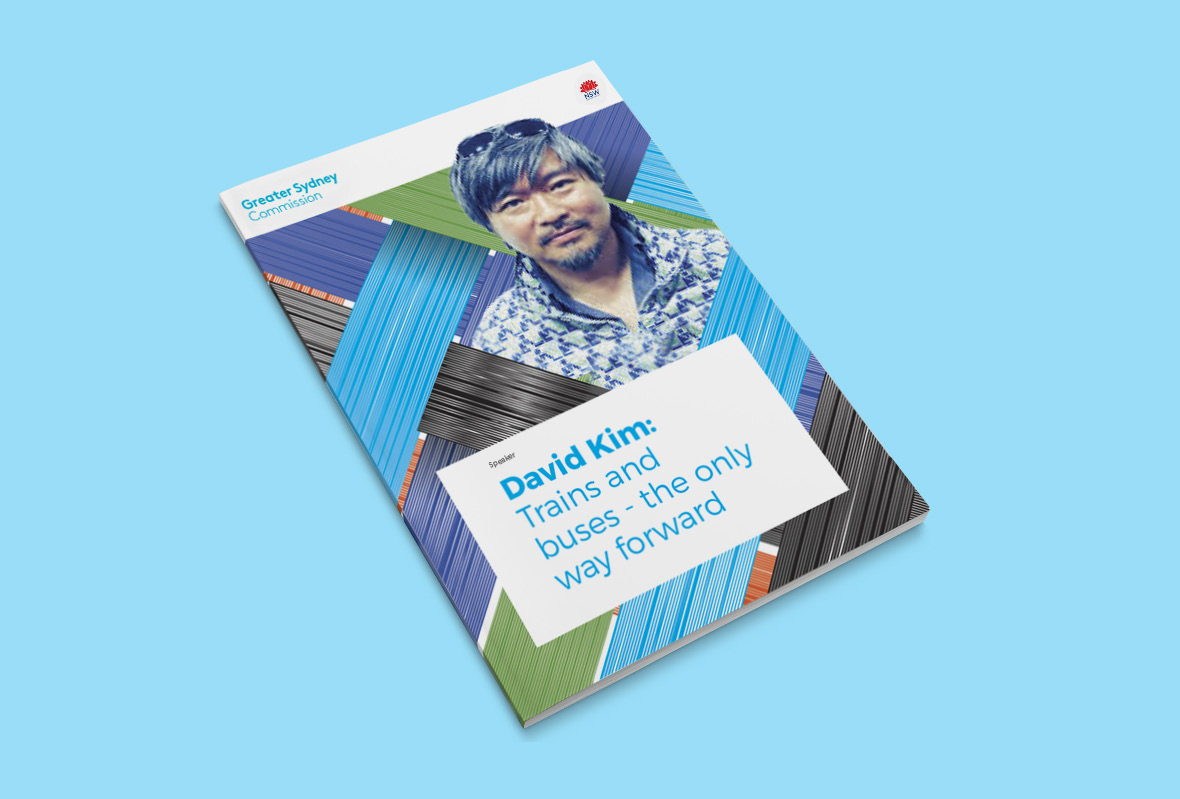 Brochure design for Greater Sydney Commission
