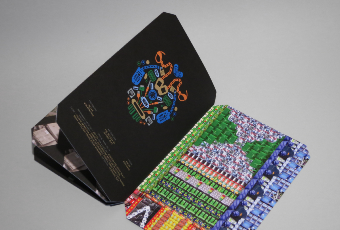 Printed booklet of Lost Tribes project by Jeffrey Oley, The Offices