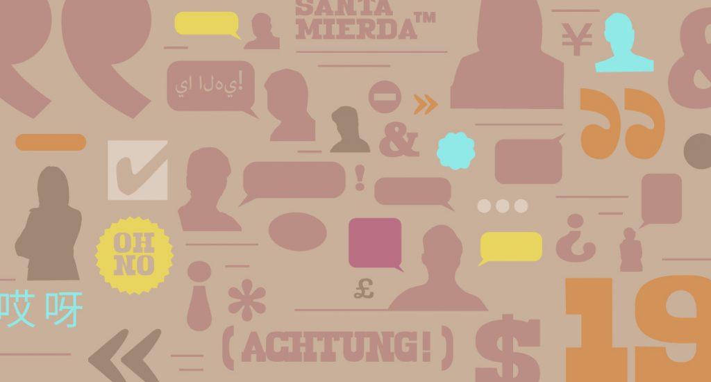 Communication icons and symbols illustration
