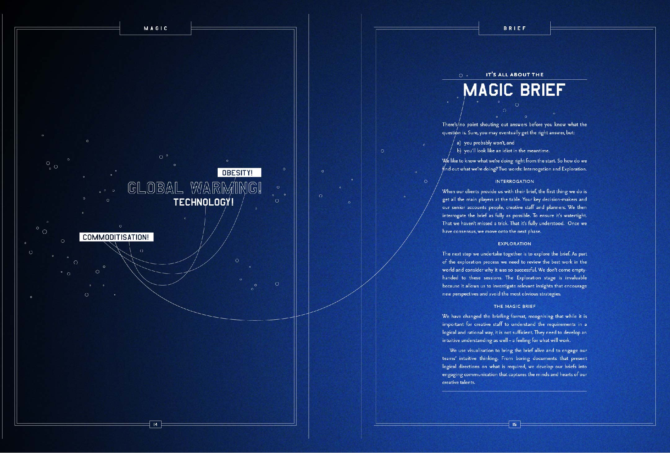 Illustration excerpt from JWT Magic and Logic promotion