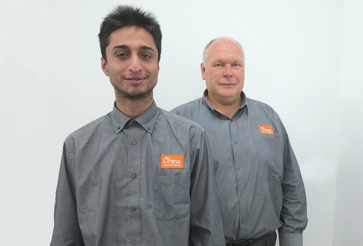 Staff uniforms for Orana Car & Truck Rentals